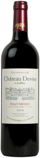 Chateau Devise d'Ardilley Haut-Medoc 2010 750ml